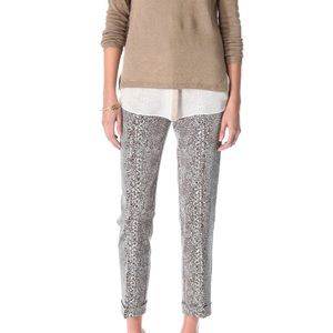 Tory Burch Bilspn Printed Pants Cuff 6